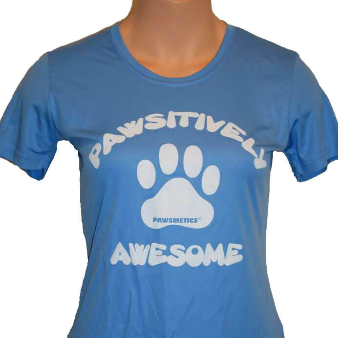 Tshirt Pawsitively Awesome