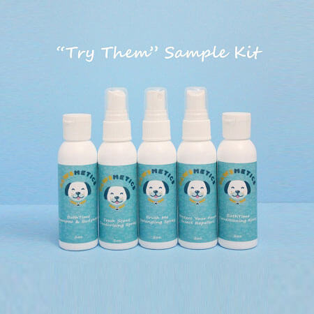 All-Natural Dog Bath Time Sample Kit